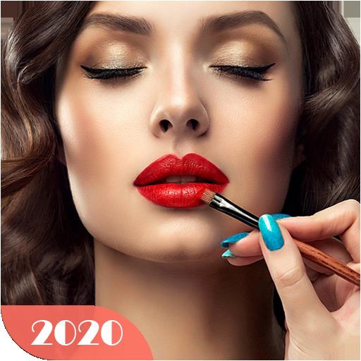 Maquiagem de rosto e beleza Selfie Makeup Editor