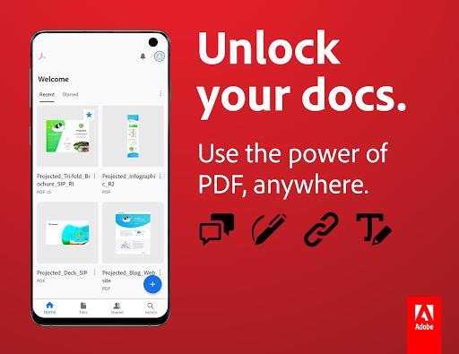 Adobe Acrobat Reader: PDF Viewer, Editor & Creator 20.7.0.14977 Screenshots 1
