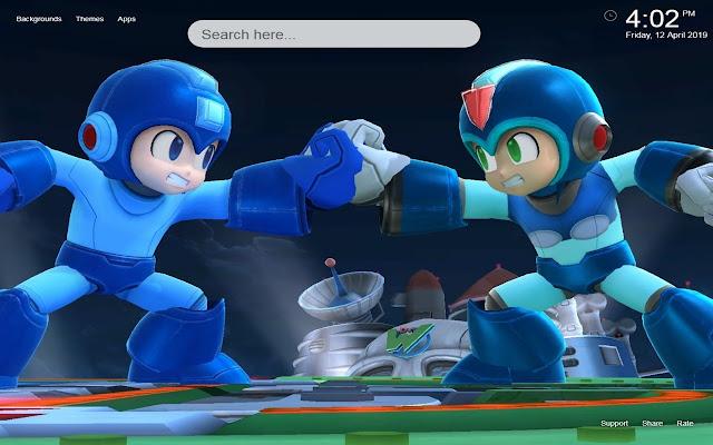 Mega Man HD Wallpapers Themes