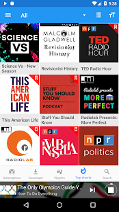 Podcast Republic- screenshot thumbnail