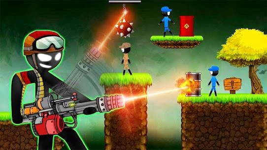 Stickman Shooting: Free offline 2D shooting games 1