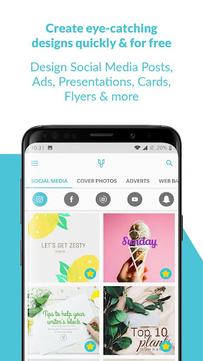 Desygner: Free Graphic Design, Photos, Full Editor 3.5.7 Apk for Android 1