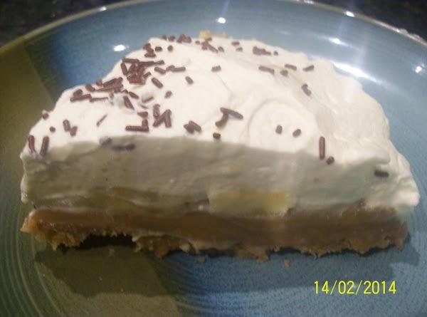 Irish Style Banoffee Pie ....yummy .. Recipe