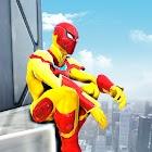 Strange Robot Superhero: 3D Robot Spider battle