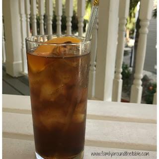 Bourbon Peach Tea.