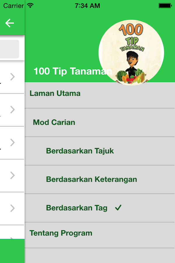 100 TIP TANAMAN- screenshot