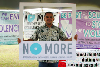 Photo: Senator Dennis Rodriguez stands against domestic violence and sexual assault!