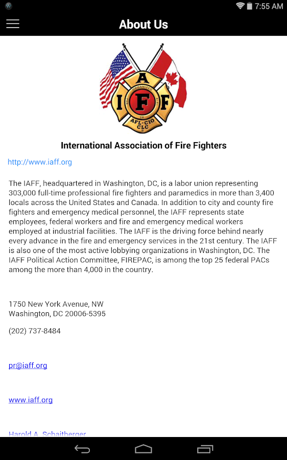 IAFF Mobile - Android Apps on Google Play