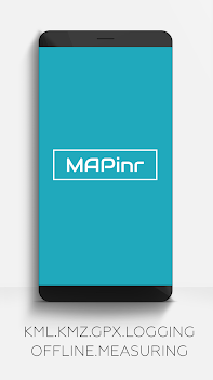 MAPinr-KML/KMZ/WMS/GPX/OFFLINE