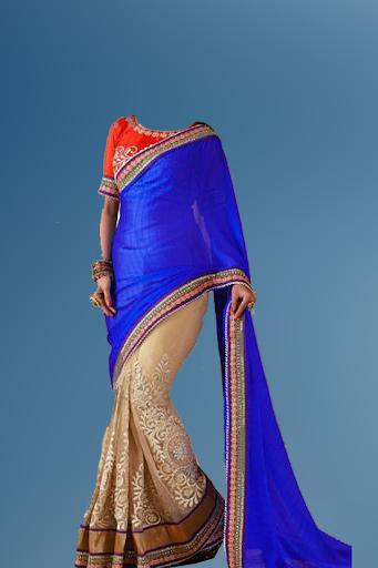 Designer Sari Photo Suit