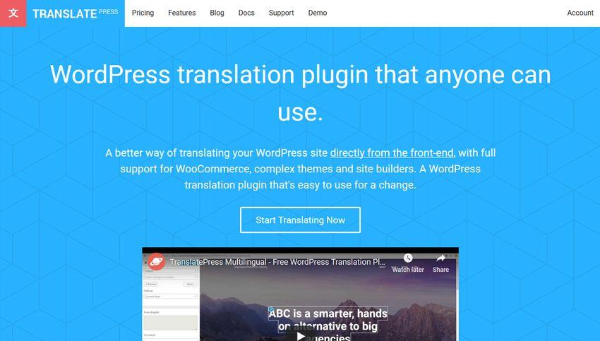 How can you Translate Your WordPress Site Using TranslatePress