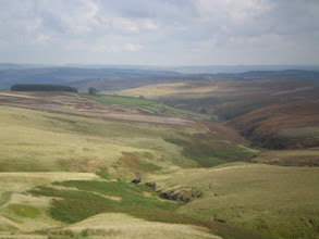 Photo: PW - South Dean Beck from Wuthering Heights