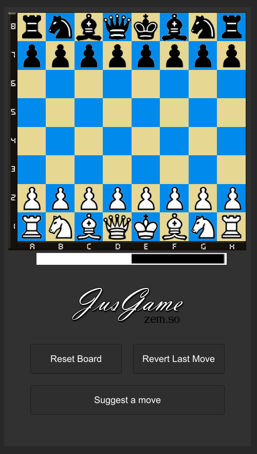 Jus Chess- screenshot