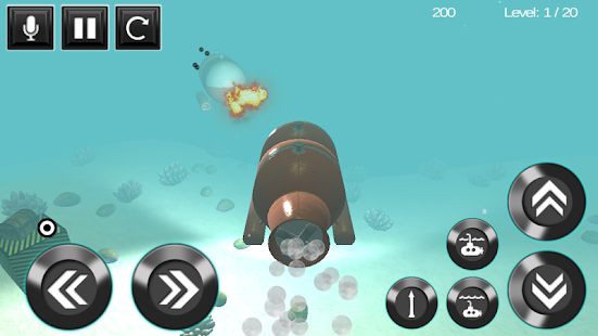 submarine torpedo war 3D- screenshot thumbnail