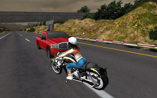 Racing Girl 3D apkdebit screenshots 2