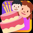 Cartes d'anniversaire icon
