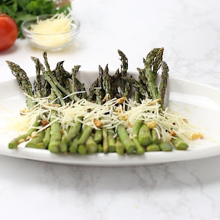 Garlic-Parmesan Asparagus Recipe