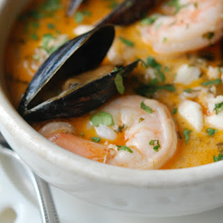 Brazilian Fish, Shrimp & Mussel Stew
