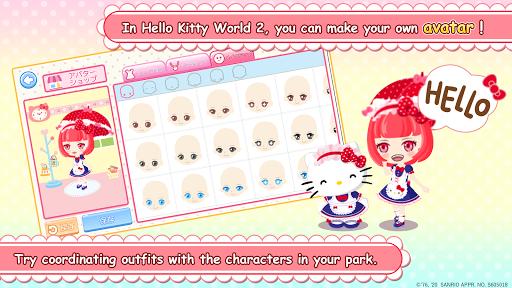لقطات شاشة Hello Kitty World 2 Sanrio Kawaii Theme Park Game 3