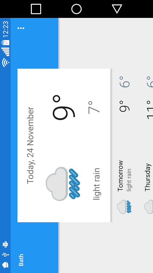 Bath Weather Android Apps On Google Play
