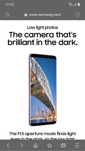 Samsung Internet Browser Beta screenshot 3