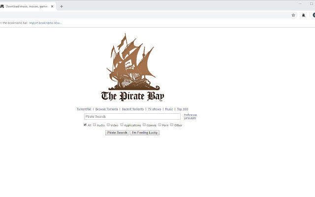 pirate proxy bay info