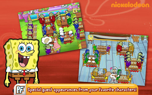 SpongeBob Diner Dash screenshot 11