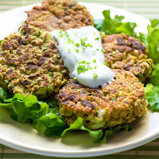 Spicy Courgette & Chickpea Burgers