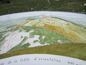 Photo: Table de Orontation on Lachens top
