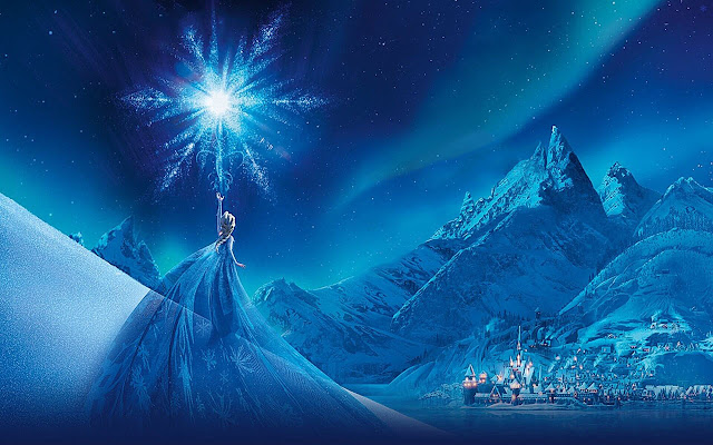 Frozen - New Tab in HD