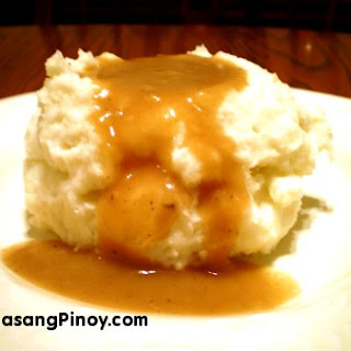 Homemade Mashed Potato.