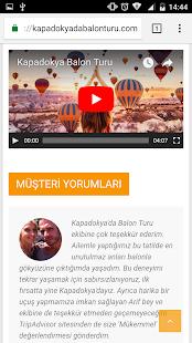 Kapadokya Balon Turu - náhled