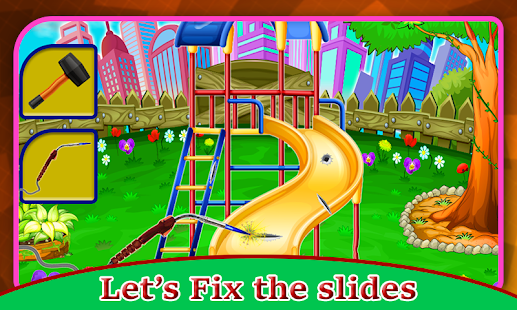 Kids Park Repair: Amusement Playground Builder - náhled
