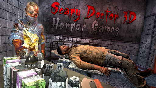Télécharger Scary Doctor 3D - Horror Games mod apk screenshots 1