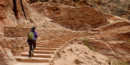 Photo: Hiking up to the place of high sacrifice