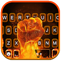 Fire Fist Keyboard Theme icon