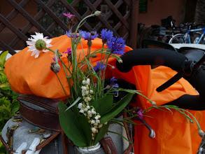 Photo: pour préserver leurs compositions florales