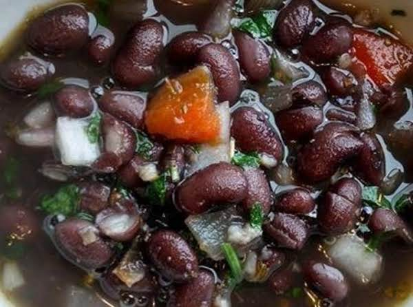 Sweet Cuban Black Beans Recipe