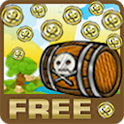 Pirate coin pusher 2D Free icon