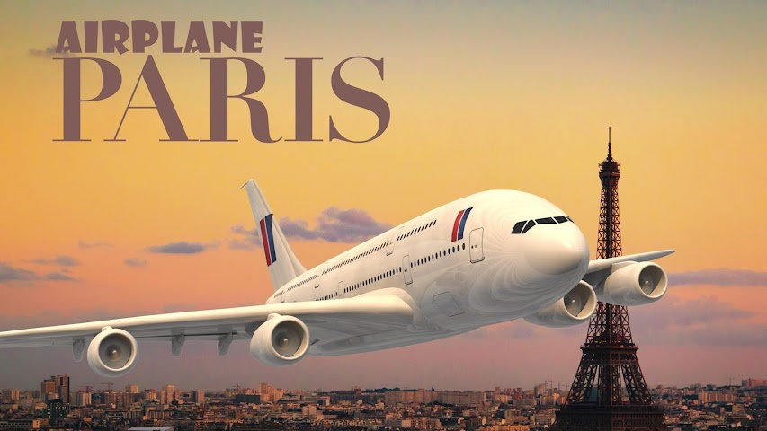 android Airplane Paris Screenshot 10