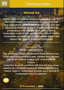 Yellow Cabs Hyderabad - náhled