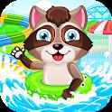 Aquapark for kids icon