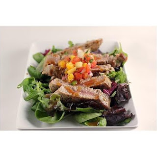 Ahi Tuna Mango Salsa salad