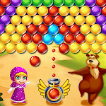 Princess Masha Bubble Shooter Icon