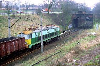 Photo: ET22-371 {szlak Toruń Miasto - Toruń Wschodni; 2001-01-31}