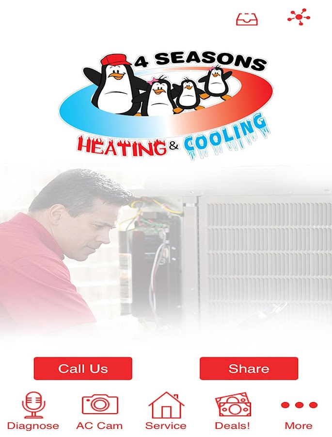 4 Seasons Heating & Cooling- screenshot
