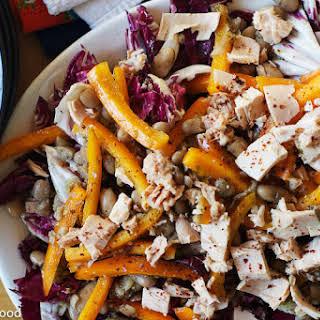 Radicchio, Tuna, Cannellini Bean Salad.