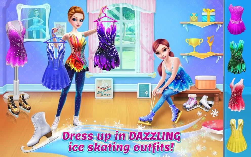 Ice Skating Ballerina - Dance Challenge Arena Android App Screenshot