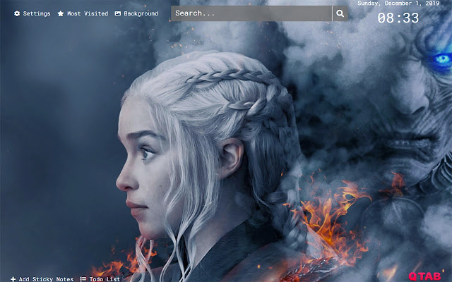 Game of Thrones Wallpapers HD New Tab Theme