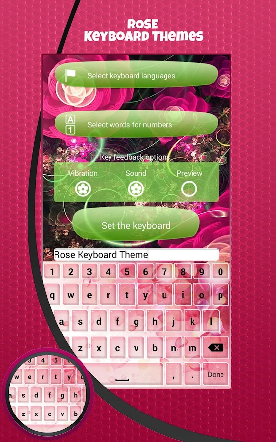 Rose keyboard themes android apps on google play rose keyboard themes screenshot ccuart Image collections